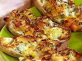 Double Stuffed Potatoes with The Works Recipe : Rachael Ray : Recipes : Food Network