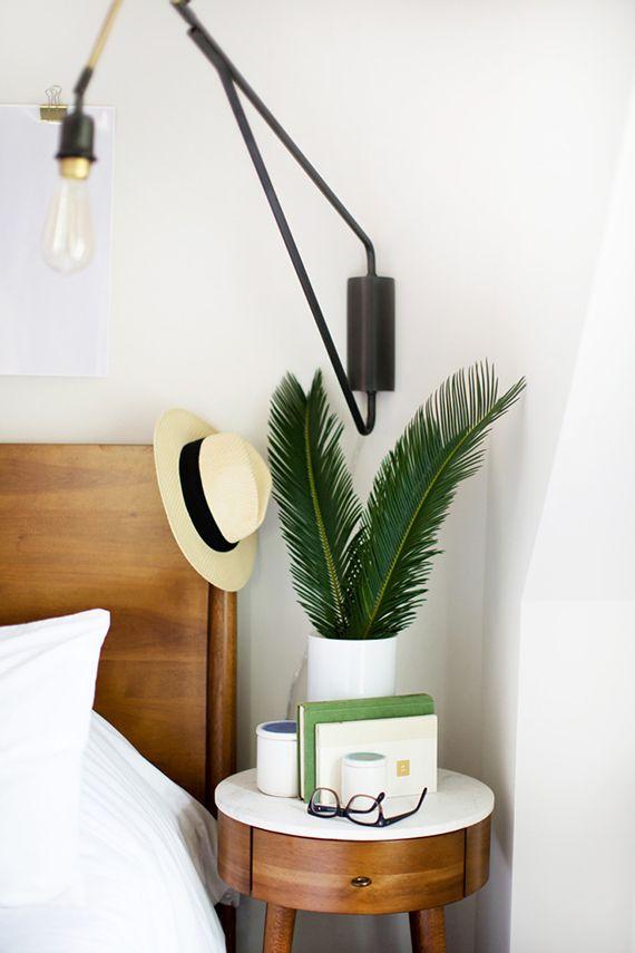 Fresh styled nightstand | Image by Tec Petaja via Front+Main