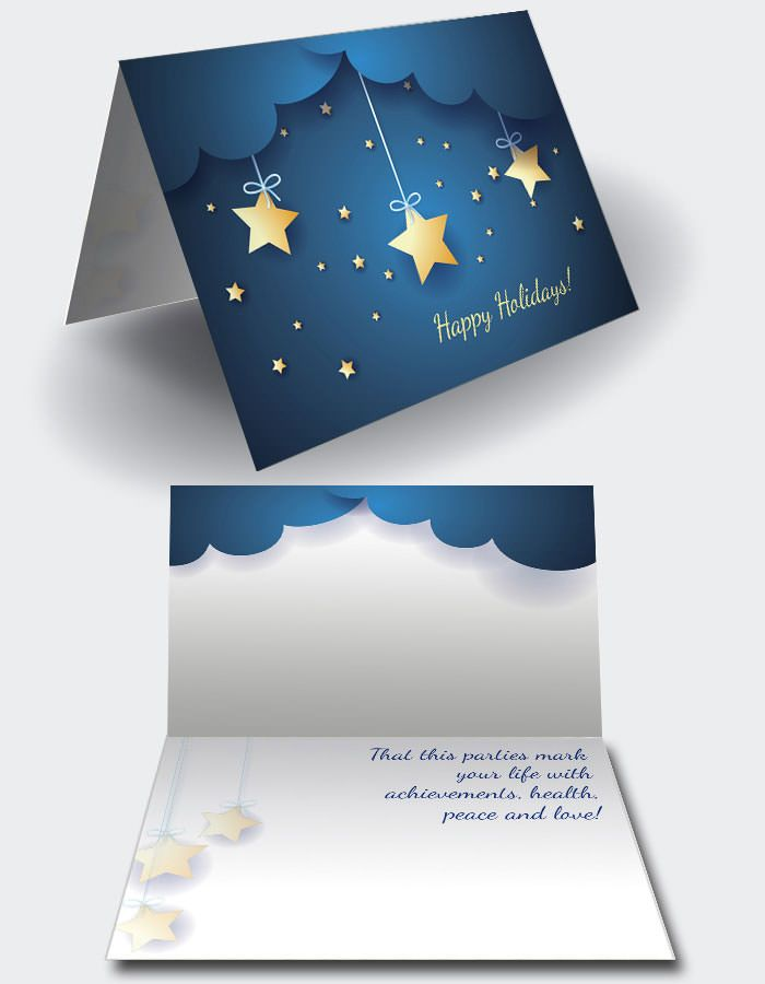 Christmas Card Templates In Files Fully Editable In Adobe Indesign For Hight Quality Print With Layers To Engli Christmas Card Template Christmas Cards Cards