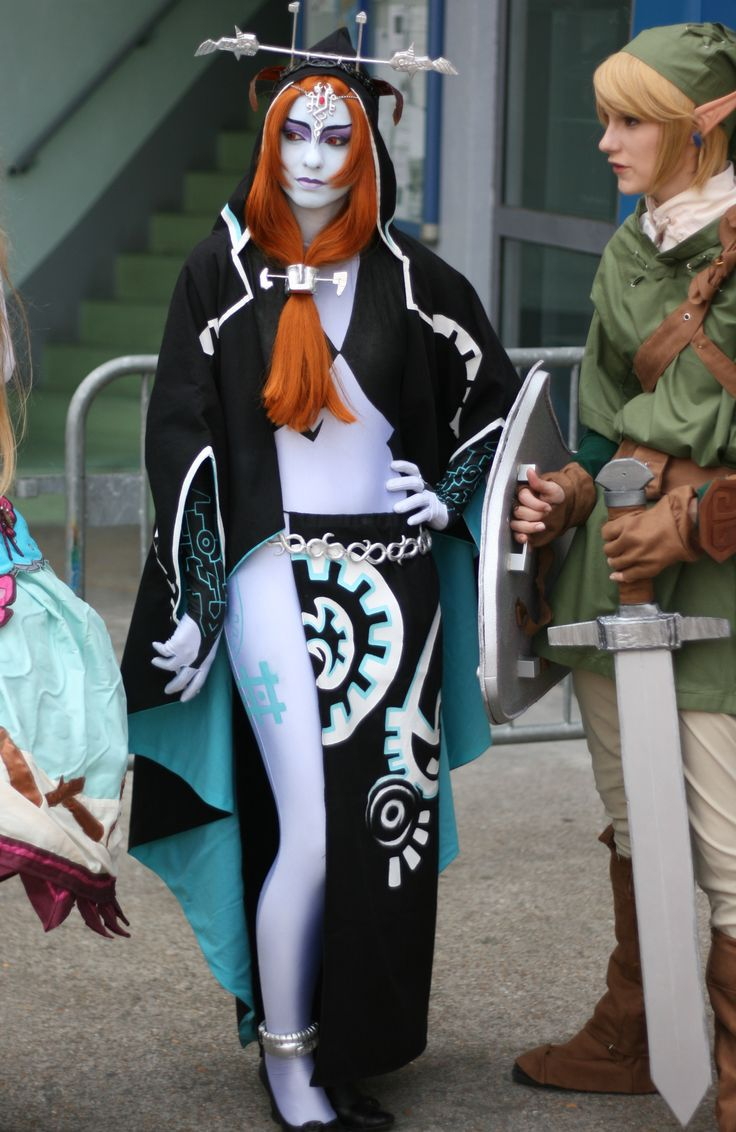 Midna and Link cosplay. So accurate