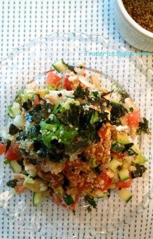 トレーダージョーズのかに缶で豆腐のサラダのレシピ かに缶で豆腐のサラダのレシピ