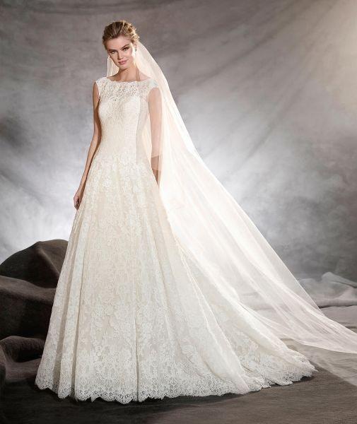 Vestidos de novia línea A 2017: 40 diseños para lucir una figura estilizada y entallada Image: 31