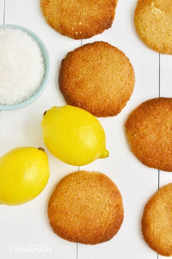 Lemon cookies  #vegan #glutenfree#paleo