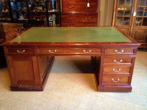 Antique Mahogany Partners Desk - Antiques Atlas - Best 25+ Partners Desk Ideas On Pinterest Classic Library