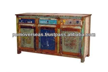 Vintage look wooden Cabinets
