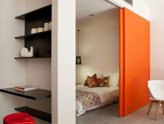 Die besten 25+ Orange schlafzimmer Ideen auf Pinterest | Orange ...