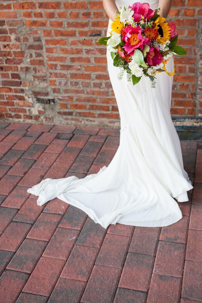 Elise and Mitch, wedding at Liberty Warehouse Wedding