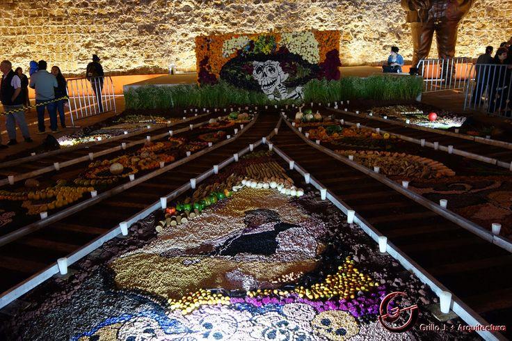 Celebrando a los muertos. Aguascalientes, México