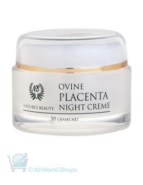 Ovine Placenta Night cream - nature's Beauty - 50g | Shop New Zealand