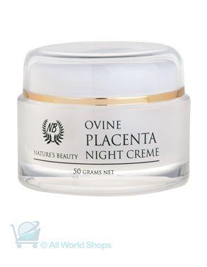 Ovine Placenta Night cream - nature's Beauty - 50g | Shop New Zealand