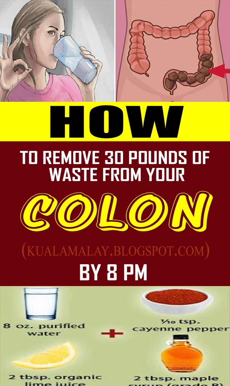 The way to take away 30 kilos Of Waste out of your Colon via 8PM #natural health