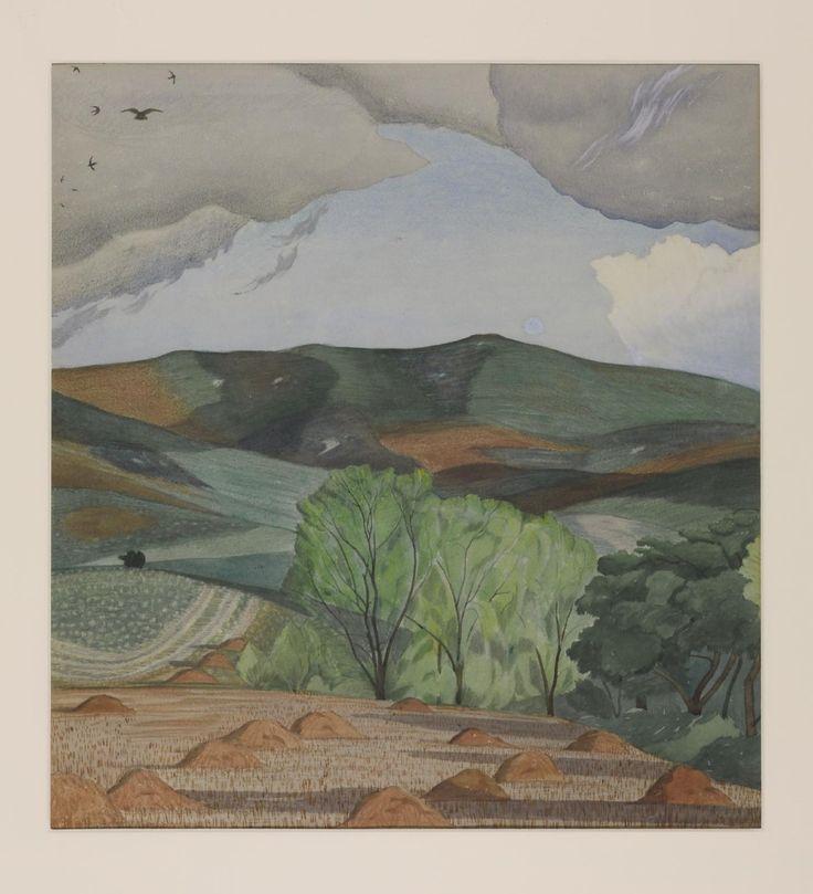 John Nash 'Dorset Landscape', c.1915 © The estate of John Nash. All Rights Reserved 2010 / Bridgeman Art Library