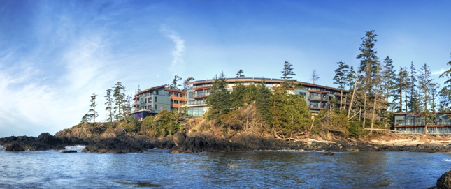 Black Rock Ocean Front Resort    A beautiful day on the West Coast of Canada