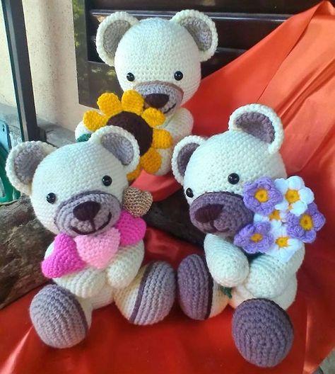 thun bear amigurumi crochet pattern