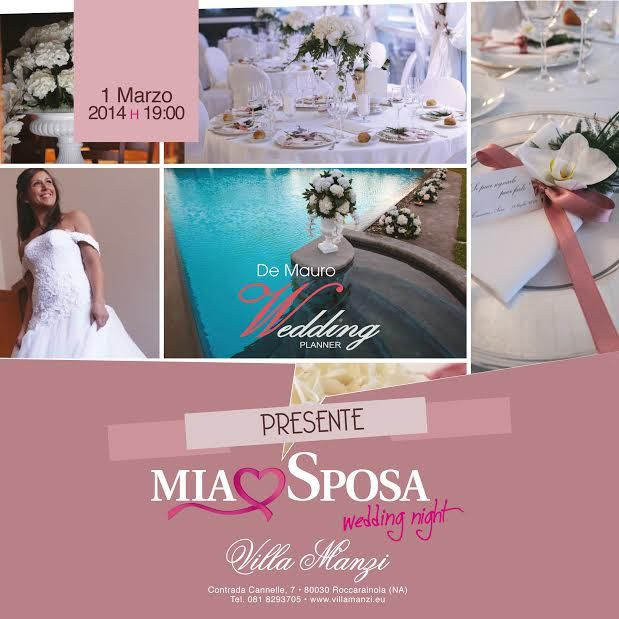 Wedding planner ufficiale di Mia Sposa, Diendì Sposa!
