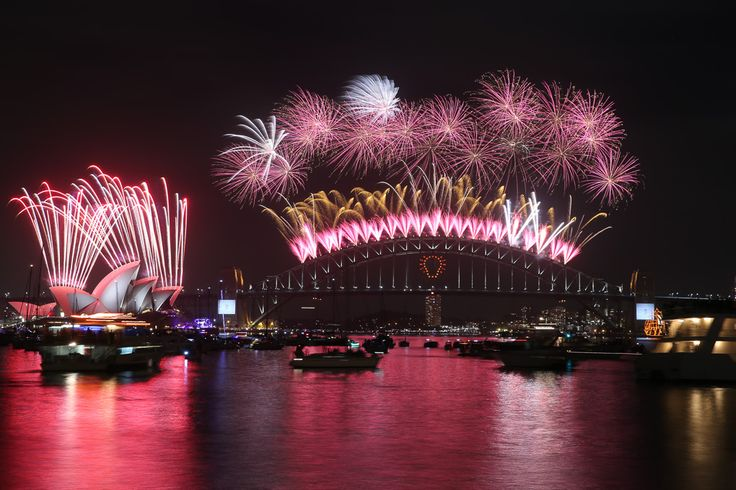 HAPPY NEW YEAR FROM SYDNEY, AUSTRALIA!!!  Sydney, WELCOME TO 2015!!!
