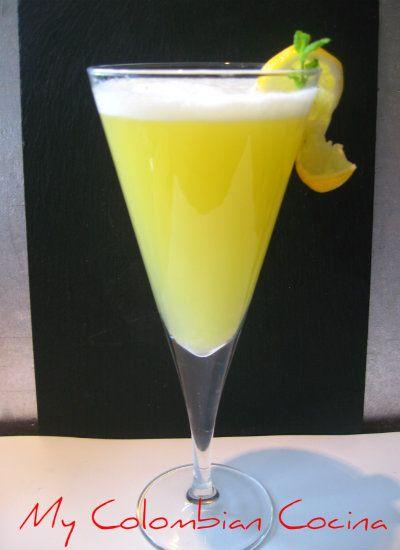 Cocktail Aguardiente Sour