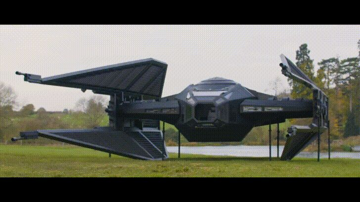 Colin Furze and James Bruton join 'Forces' to create lifesize TIE silencer