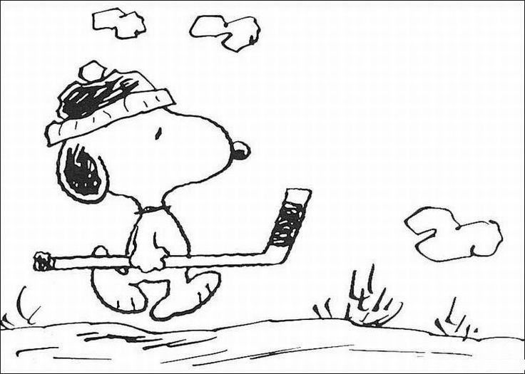free printable snoopy coloring pages for kids - Snoopy Friends Coloring Pages