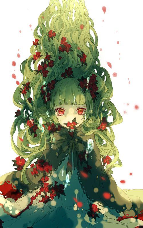 75 best images about Green Hair on Pinterest | Bleach ...