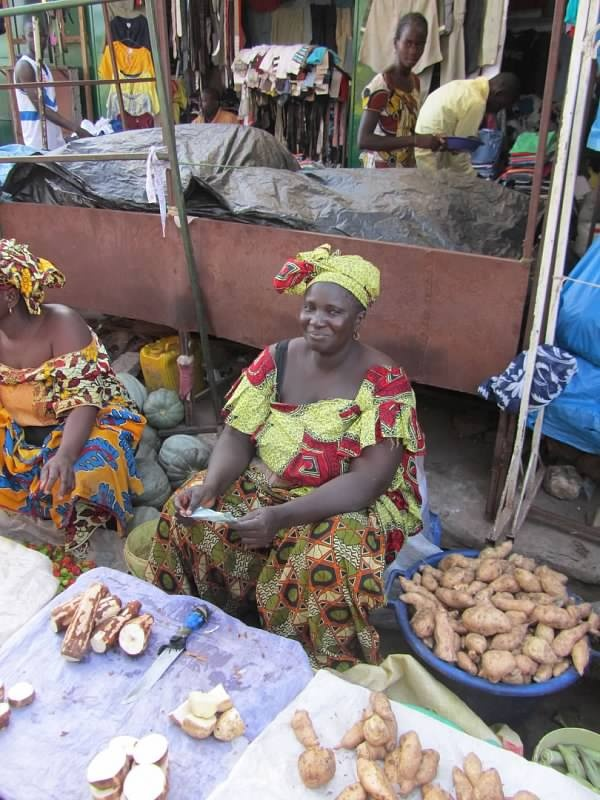 WorldWide Wanderings - Serrekunda Market The Gambia