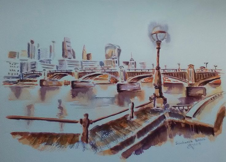 Southwark Bridge -London-