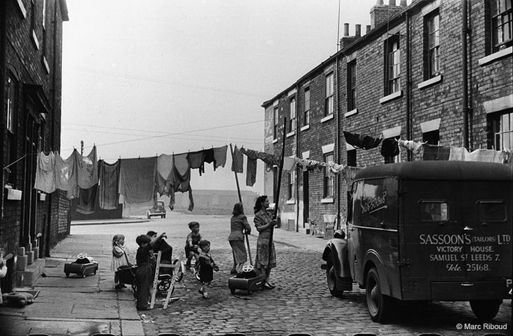 Leeds, 1954 by Marc Riboud