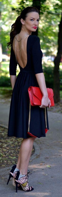 Fairytale Collection Shop Black Soft Pleat Backless Midi Summer Dress by My Silk Fairytale
