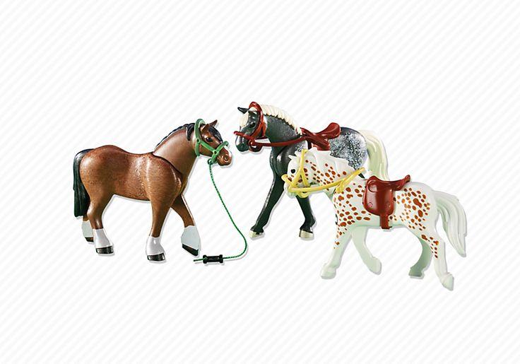 1897 best playmobil images on pinterest playmobil toys for Playmobil pferde set