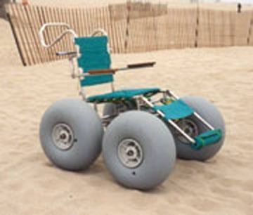 Beach wheelchairs are becoming more popular! It is starting in San Francisco and will sure to spread. #beach #wheelchair #accessible