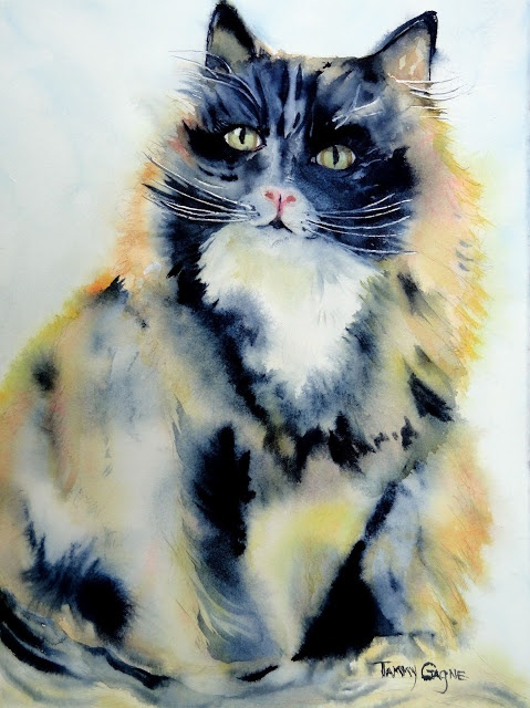 Watercolor Artist Tammy Gagne