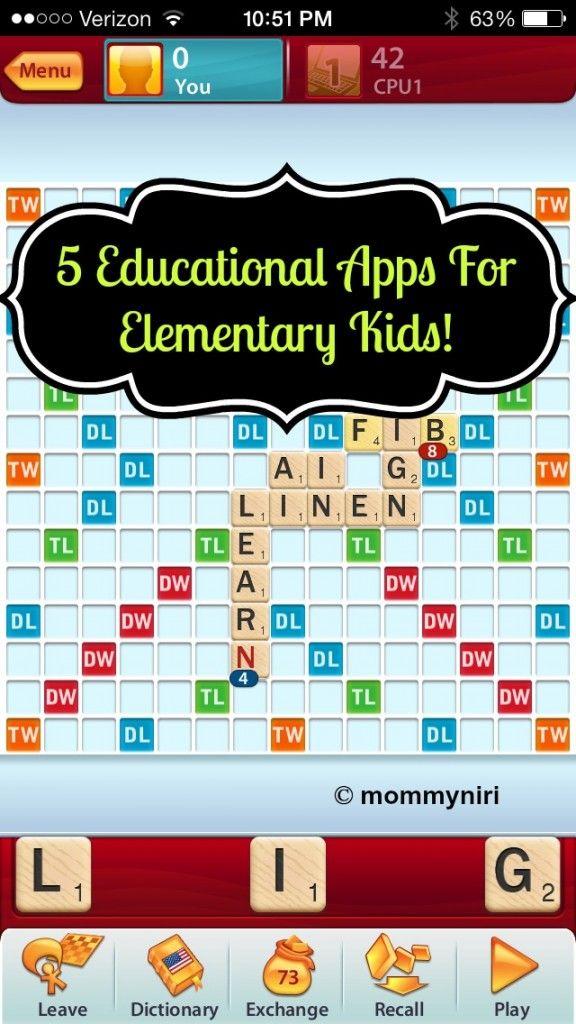 5 Educational Apps For Elementary Kids! #VZWBUZZ | Mommy Niri