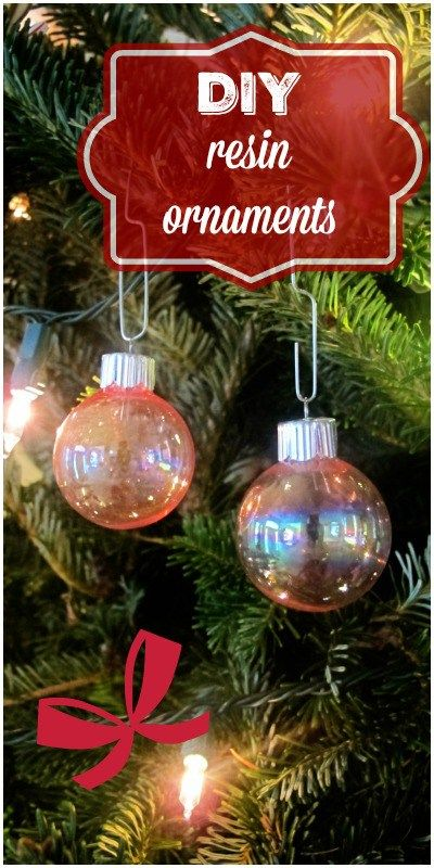 DIY resin ornaments