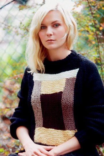 Kirsten Dunst wears Rodarte's F/W 2011 Hand Knit Sweater in the 2011 issue of A Magazine