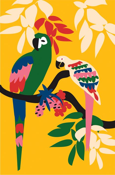 Poster by Jana Glatt.  Jana Glatt is a freelance illustrator and designer from Rio, Brazil.   http://cargocollective.com/janaglatt/