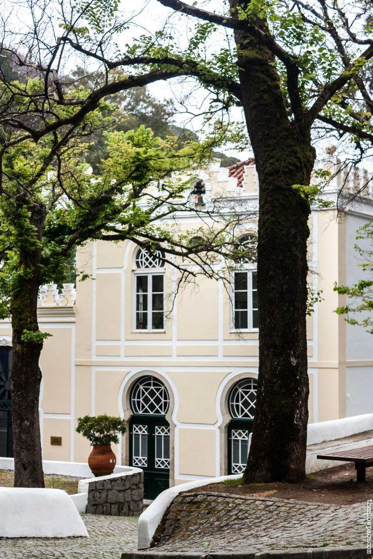 Main square, caldas de Monchique, Portugal
