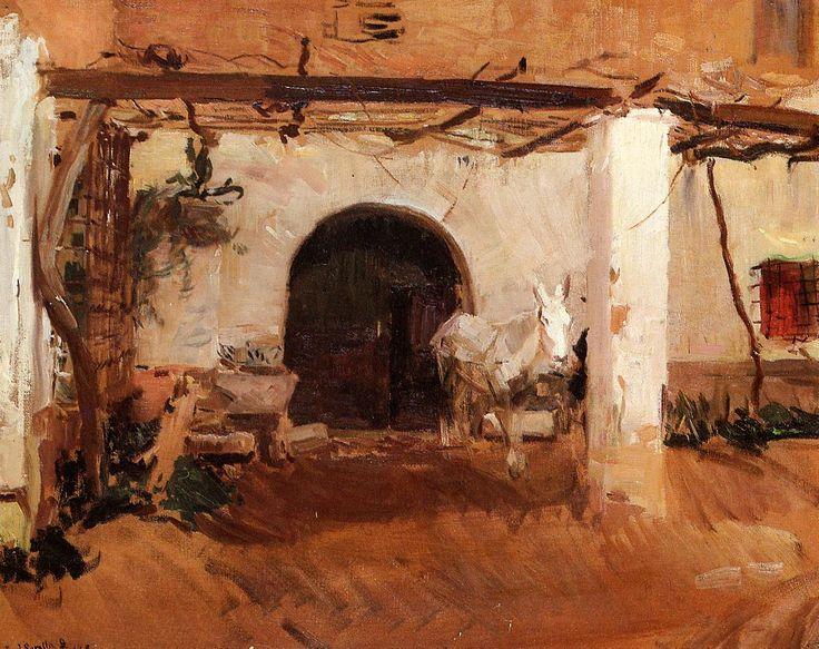 Casa de Huerta, Valencia - Joaquín Sorolla
