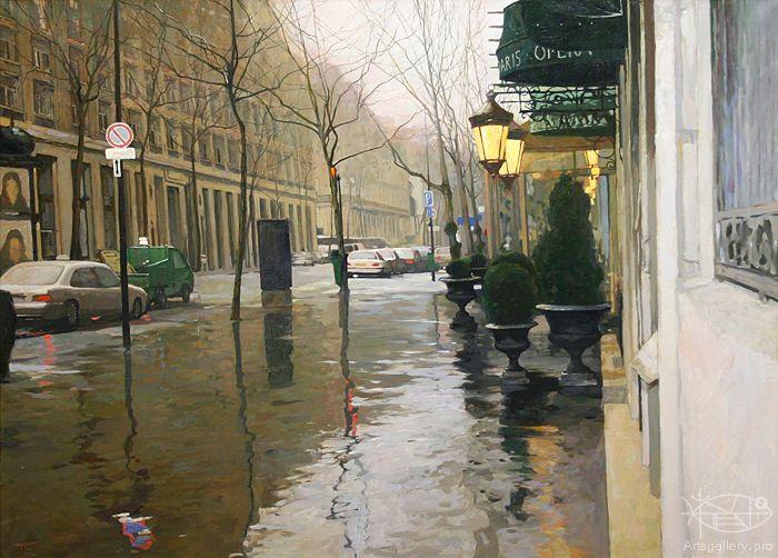 Безруков Петр - 'Дождливая погода. Париж'