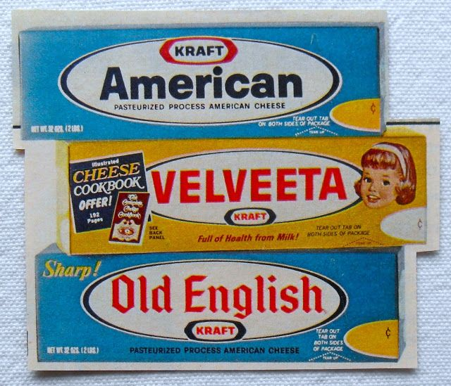 Kraft velveeta old english packaging 1950s packaging for Michael uhlemann cuisine m
