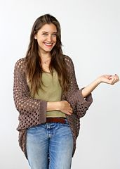 Whether you're cozying up on the couch or hitting up the local theater, the Movie Night Cocoon Cardi is the perfect addition to your ensemble. Like the hug of a blanket, this shrug-style cardigan comfortably drapes over your shoulders for that extra bit of warmth. Work it in a lightweight cotton for summer nights or a chunkier wool for cooler temperatures - this same pattern can be used for multiple weights!