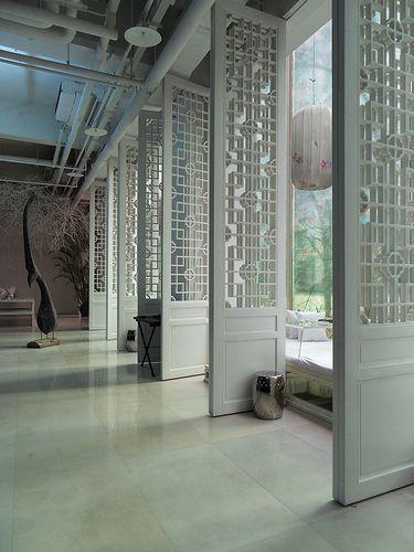 Green T. House Living in Beijing [via pinkpagodastudio]