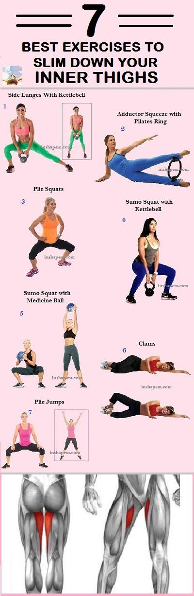7 Best Exercises To Slim Down Your Inner Thighs - InShape Magazine