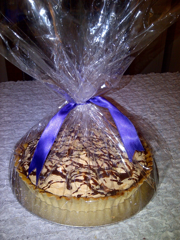 Family Sized Tarts; this is Chocolate Hazelnut Tart, but you can order anything from our range for courier delivery.
