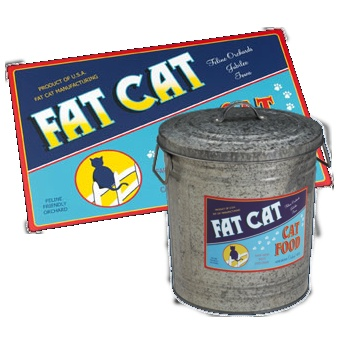 The perfect food set for a fat*(cool) cat! $42.50