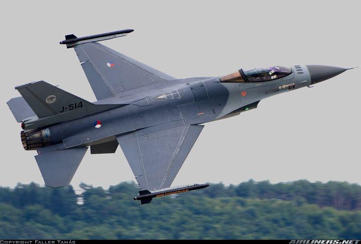 General Dynamics (Fokker) F-16AM Fighting Falcon (401) Royal Netherlands Air Force (RNLAF), Dutch Koninklijke Luchtmacht (KLu)