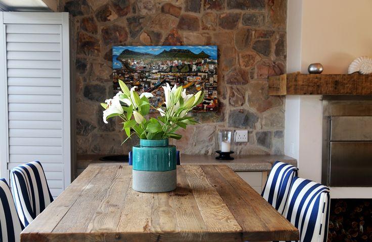 Hermanus Vista: Dining Room. FIREFLYvillas, Hermanus, 7200 @FIREFLYvillas, bookings@fireflyvillas.com, #HermanusVista #FIREFLYvillas, #HermanusAccommodation