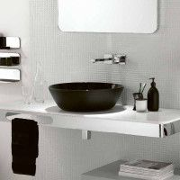 Ext Black and White Bathrooms - 2