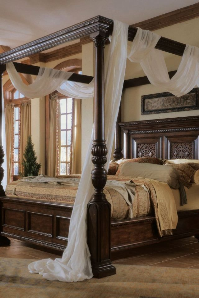 Amazing King Size Bed Canopy 4 Four Poster Bed Canopy Idea