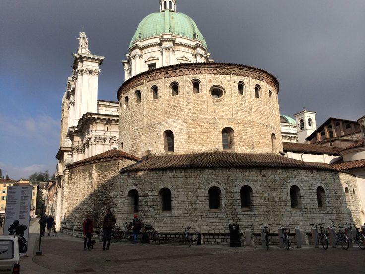 Duomo Vecchio, la Rotonda, Piazza Duomo, Brescia