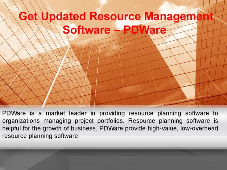 #PDWare is a market leader in providing resource planning software to organizations managing project portfolios. Resource planning software is helpful for the growth of business. PDWare provide high-value, low-overhead resource planning software.